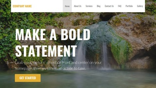 Stout Hot Spring WordPress Theme