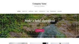 Uptown Style Hot Spring WordPress Theme