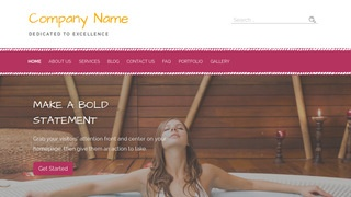 Scribbles Hot Tubs, Spas and Pools WordPress Theme