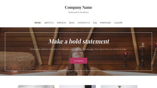 Uptown Style Hot Tubs, Spas and Pools WordPress Theme