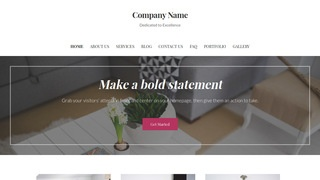Uptown Style Housewares and Home Goods WordPress Theme