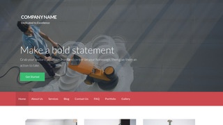 Activation Commercial Cleaning Service WordPress Theme
