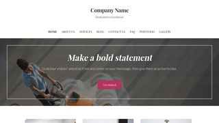 Uptown Style Commercial Cleaning Service WordPress Theme