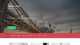 Activation Industrial Gas WordPress Theme