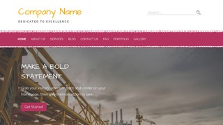 Scribbles Industrial Gas WordPress Theme