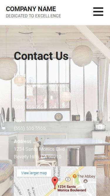 Mins Interior Design WordPress Theme