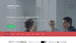 Activation International Trade Consultant WordPress Theme