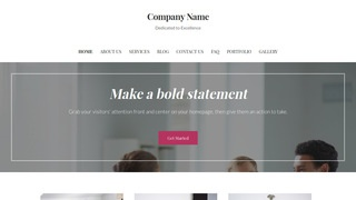 Uptown Style International Trade Consultant WordPress Theme