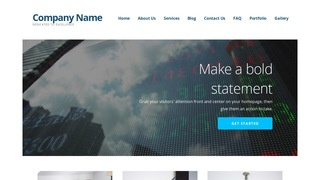 Ascension Investment Bank WordPress Theme