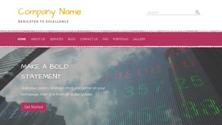 Scribbles Investment Bank WordPress Theme