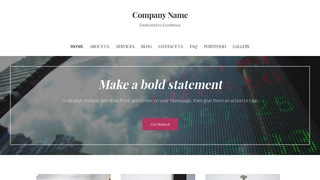 Uptown Style Investment Bank WordPress Theme