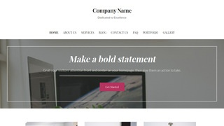 Uptown Style IT Consulting WordPress Theme