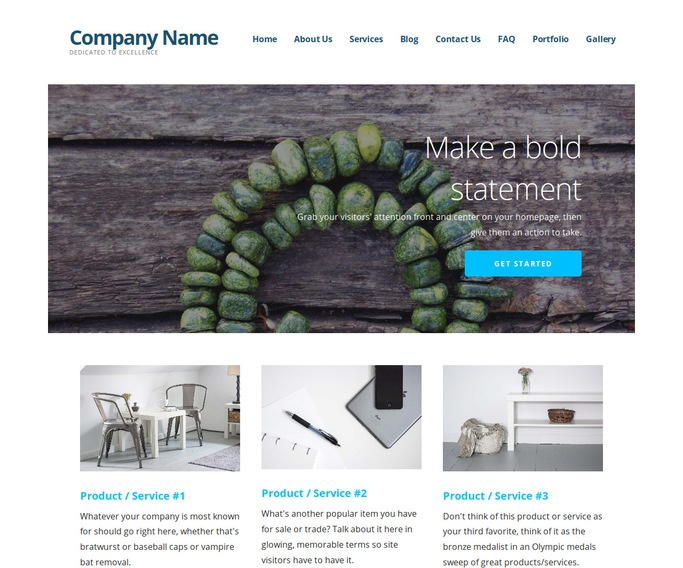 Ascension Jewelry Designer WordPress Theme