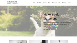 Mins Kennel WordPress Theme