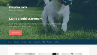 Primer Kennel WordPress Theme
