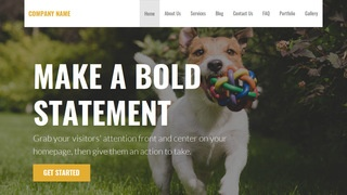 Stout Kennel WordPress Theme