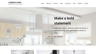 Mins Kitchen Cabinet Store WordPress Theme