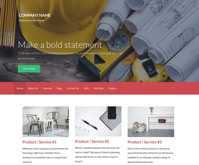 Activation Kitchen Remodeling WordPress Theme