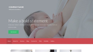 Activation Lactation Service WordPress Theme