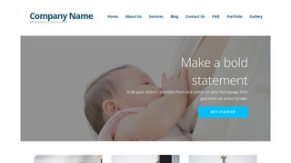 Ascension Lactation Service WordPress Theme