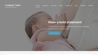 Lyrical Lactation Service WordPress Theme