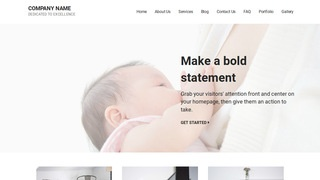 Mins Lactation Service WordPress Theme