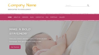 Scribbles Lactation Service WordPress Theme