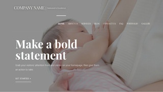 Velux Lactation Service WordPress Theme
