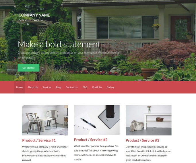 Activation Landscape Designer WordPress Theme