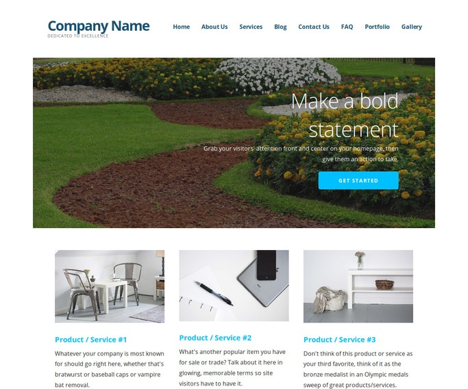 Ascension Landscaping WordPress Theme