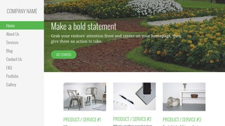 Escapade Landscaping WordPress Theme