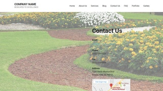 Mins Landscaping WordPress Theme
