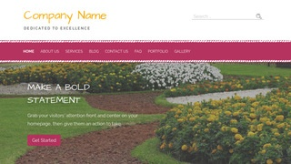 Scribbles Landscaping WordPress Theme
