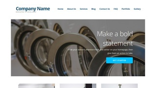 Ascension Laundromat WordPress Theme