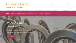 Scribbles Laundromat WordPress Theme