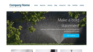 Ascension Lawn Sprinkler Contractor WordPress Theme
