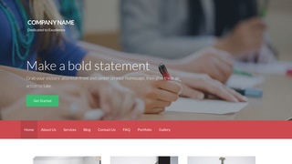 Activation Law School WordPress Theme