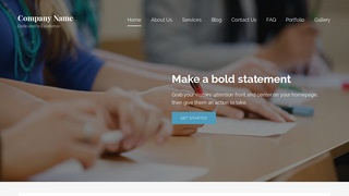 Lyrical Law School WordPress Theme