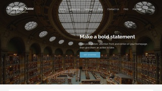 Lyrical Library WordPress Theme