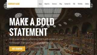 Stout Library WordPress Theme