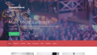 Activation Live Music WordPress Theme