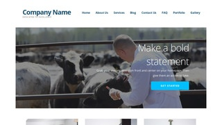 Ascension Livestock Dealer WordPress Theme