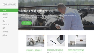 Escapade Livestock Dealer WordPress Theme
