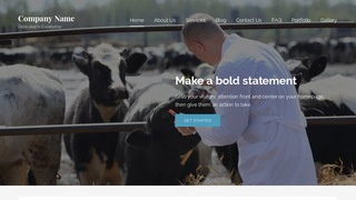 Lyrical Livestock Dealer WordPress Theme