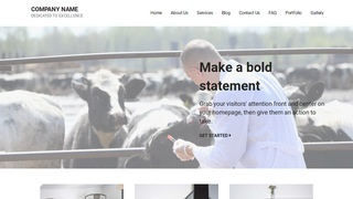 Mins Livestock Dealer WordPress Theme