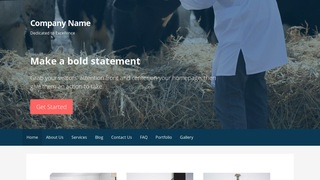 Primer Livestock Dealer WordPress Theme