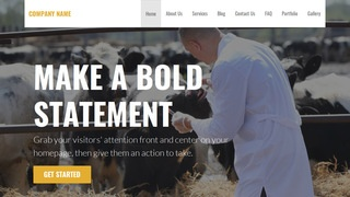 Stout Livestock Dealer WordPress Theme