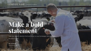 Velux Livestock Dealer WordPress Theme
