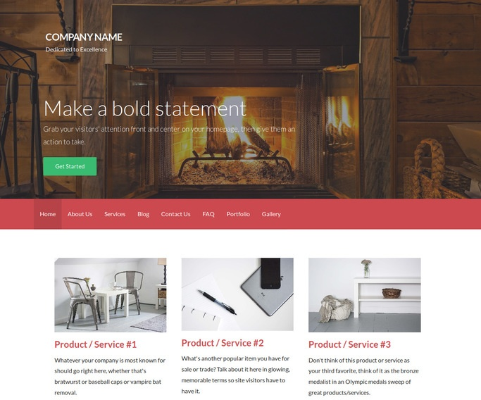 Activation Lodge WordPress Theme