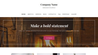 Uptown Style Lodge WordPress Theme